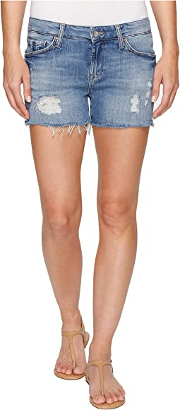 Emily Shorts in Light Indigo Vintage
