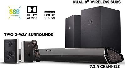 Best atmos soundbar with rear speakers Reviews