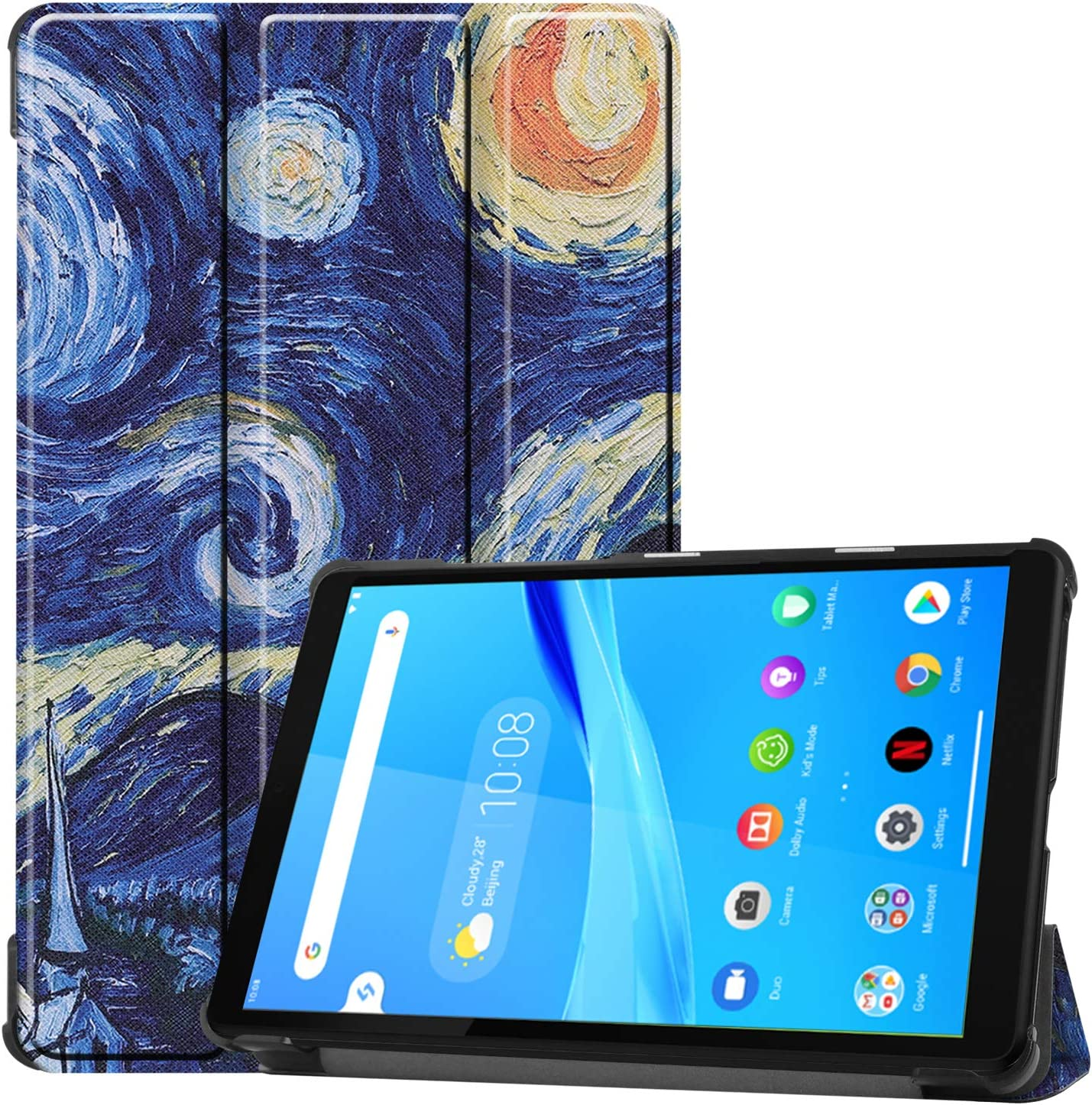 Ygoal Case For Lenovo Tab M10 Fhd Plus Tb X606f 10 3 Computers Accessories