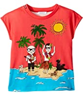 Dolce & Gabbana Kids - D&G Piggies Vacation T-Shirt (Little Kids)