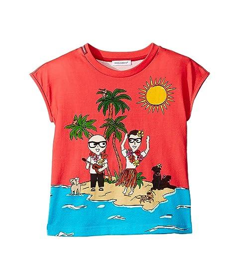 Dolce & Gabbana Kids D&G Piggies Vacation T-Shirt (Little Kids)