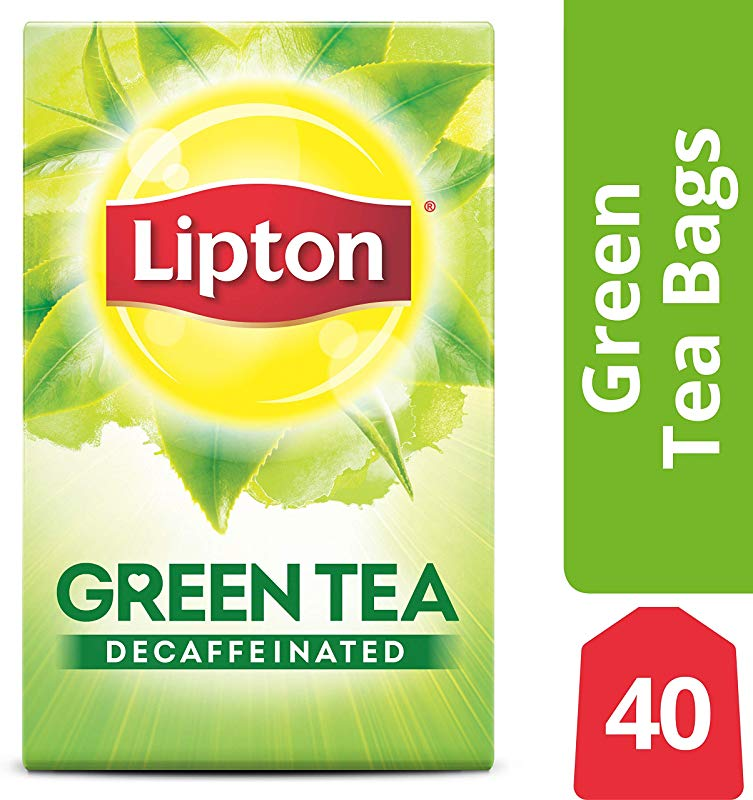 Lipton Green Tea Bags Decaffeinated 40 Ct Pack Of 6