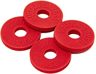 Guitar Savers Premium Strap Locks (2 Pair) - Red