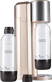 Levivo Vattenbubblaset/dricksvattenbubblare startset inkl. 2 PET-bubblare, klassisk sodaberedare för individuell tillsats ...