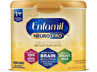 Enfamil NeuroPro Baby Formula Milk Powder Reusable Tub, 20.7 oz -Brain Building Nutrition..