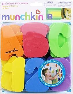 HAPPYTOYS Classic Bath Toy 36pcs/set Early Childhood Education EAV Water Bath Toys Kids Baby Digital Stickers