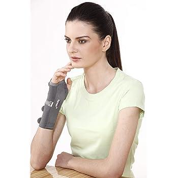 Tynor Elastic Wrist Splint(Strong Support, Immobilzation,Customized Fitting,Durable) -Right Hand, Medium