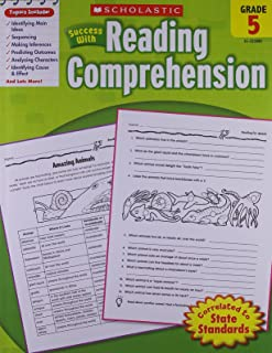 Scholastic Success With: Reading Comprehension Workbook: Grade 5