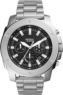 Fossil Men's Mega Machine Quartz Silicone Chronograph Watch