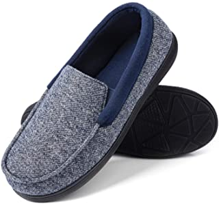 RockDove Men's SILVADUR Anti-Odor Moc Slipper
