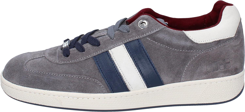 D'ACQUASPARTA Fashion-Sneakers Mens Suede Grey