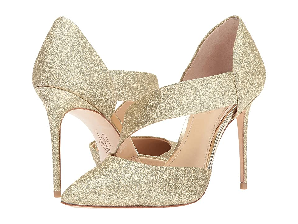 Imagine Vince Camuto Oya (Soft Gold Sparkle) High Heels