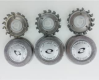 3 x Replacement Shaver Head for Philips HQ56 HQ55 HQ4+ HQ3 HQ802+HQ912+PQ202