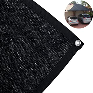 TINTON LIFE 85% Sun Shade Cloth with Grommets 10' x 6.5' UV Resistant Mesh Net for Garden Patio Sunblock Backyard Greenhouse Outdoor Cover