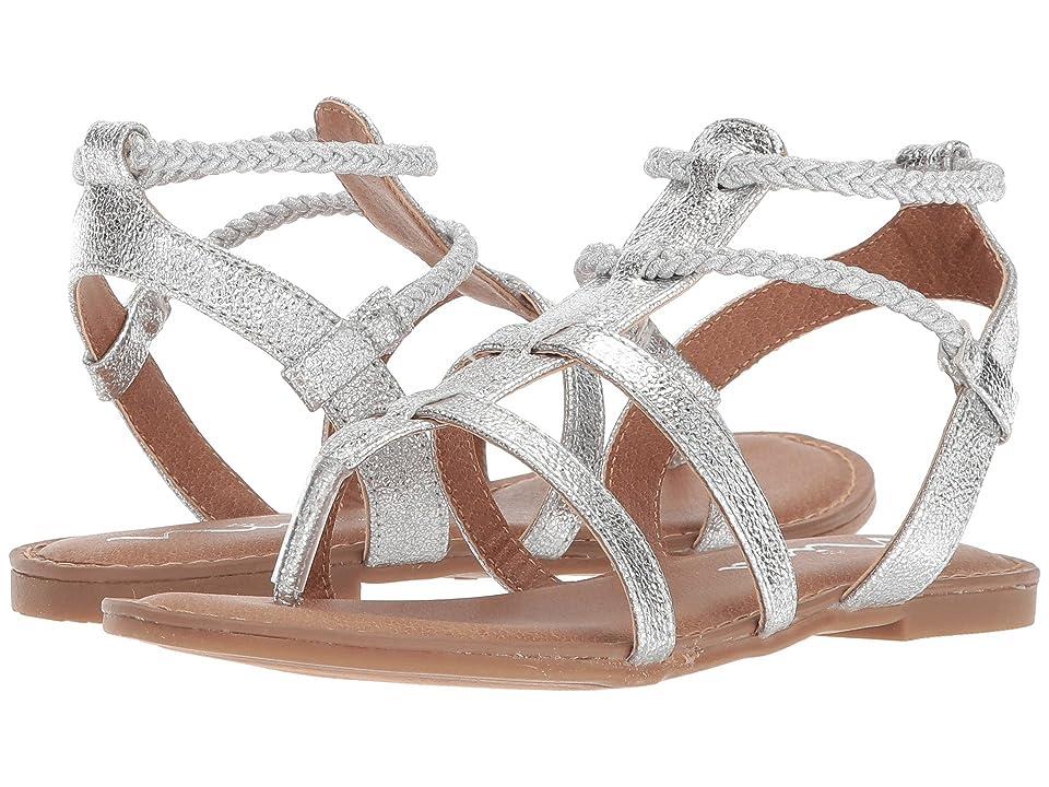 Nina Kids Margaree (Toddler/Little Kid/Big Kid) (Silver Metallic) Girls Shoes