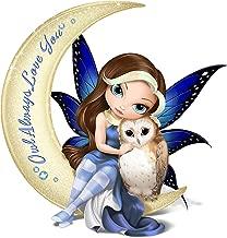 The Hamilton Collection Jasmine Becket Griffith Fairy and Owl Moon Figurine