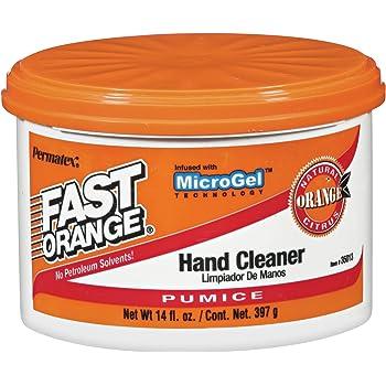 Permatex 35013 Fast Orange Pumice Cream Hand Cleaner, 14 oz., Pack of 1