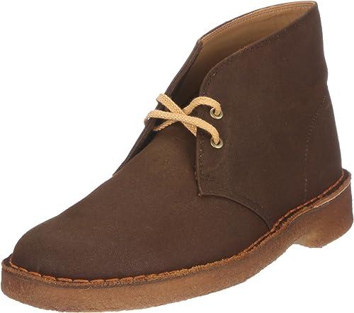 Clarks Desert botas 20342811 - botas de Lino para Hombre
