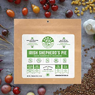 Irish Shepherd's Pie - Plant Based, Protein Packed, Nutritious dehydrated Meal for Camping, Travel, Adventure on The go (4