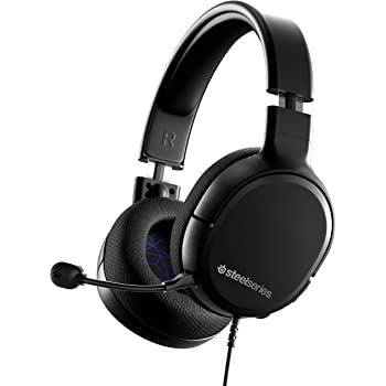 SteelSeries Arctis 1 Wired Gaming Headset – Detachable ClearCast Microphone – Lightweight Steel-Reinforced Headband – for PS4, PC, Xbox, Nintendo Switch and Lite, Mobile