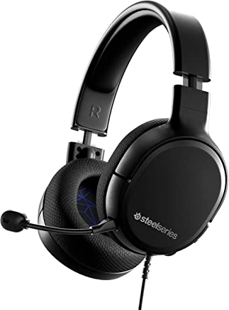 SteelSeries Arctis 1 Wired Gaming Headset - detachable Clearcast Microphone - Lightweight Steel-Reinforced Headband - for PS4, PC, Xbox, Nintendo Switch, Mobile - PlayStation 4