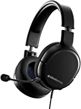 SteelSeries Arctis 1 Wired Gaming Headset � Detachable ClearCast Microphone � Lightweight Steel-Reinforced Headband � for PS4, PC, Xbox, Nintendo Switch and Lite, Mobile