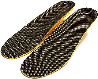 Qewmsg La absorción de choque de tela neta del zapato del