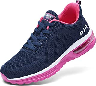 Women's Air Running Shoes Athletic Fashion Lightweight Sneakers for Walking Tennis Sports Gym...