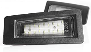 LED Kennzeichenbeleuchtung Kennzeichenleuchte Nummernschildbeleuchtung Plug&Play mit Zulassung