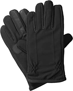 isotoner Men's Tech Stretch Touchscreen Texting Cold Weather Gloves with Warm Dual Lining