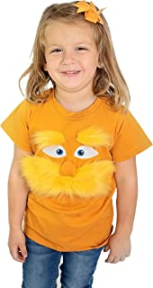 ComfyCamper Orange Mustache Shirt for Kids Girls Boys Adults Men Woman (Adult Medium)