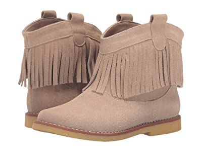 Elephantito Bootie w/ Fringes (Toddler/Little Kid/Big Kid) (Suede Sand) Girls Shoes