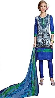 Minu salwar Cotton Printed Suit sets Multi(Mannat_1008_0)