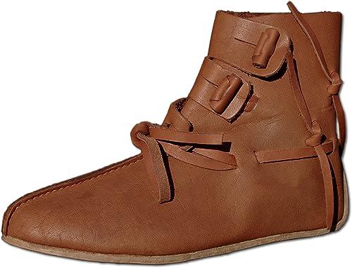 CP-Schuhe - schuhe de Cordones de Piel Lisa para Hombre braun braun
