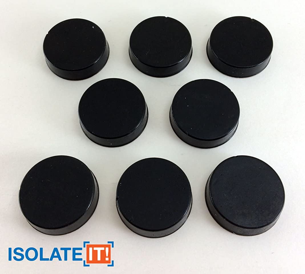 Isolate It: Sorbothane Vibration Isolation Circular Disc Pad 0.25