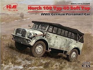 ICM 1/35 WW2ドイツ 重統制型軍用車 Typ40 ホルヒ108 ソフトトップ