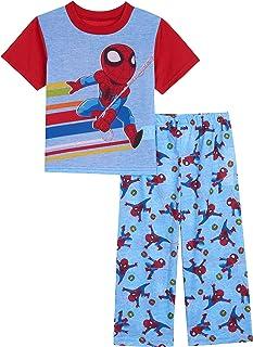 Marvel Boys 2-7 2-Piece Spider-Man Pajama Set