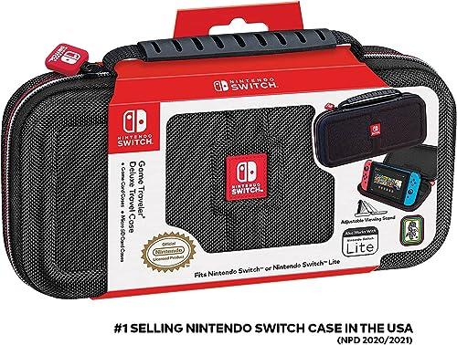 Nintendo Switch Protective Deluxe Travel Case, Black