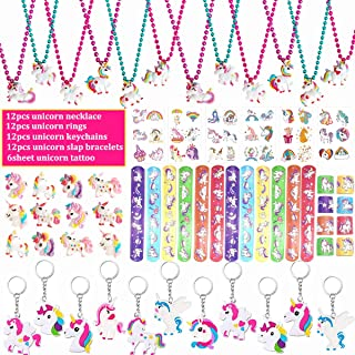 12 PACK Party Decor Kids Unicorn Party Event Unicorn Bracelets Unicorn Birthday Party Favors Unicorn Wristbands Unicorn Bag Fillers
