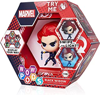 WOW! PODS Avengers Black Widow   Official Marvel Superhero Light-Up Bobble-Head Figure   Collectable Toy