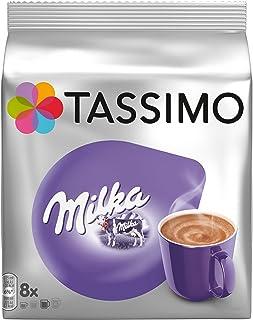 Tassimo Milka - Chocolate Caliente, (Pack de 5 x 8 Cápsulas, Total 40 Cápsulas)