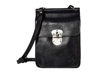 Patricia Nash Annecy North/South Camera Bag (Black) Handbags