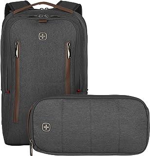 Wenger CityUpgrade Laptop-Rucksack mit Umhängetasche, Notebook bis 16 Zoll, Tablet bis 12 Zoll, 15 l, Damen Herren, Busine...