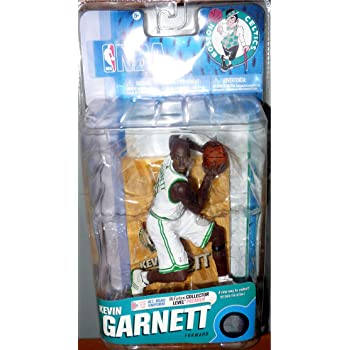 NBA Sports Picks Series 14 Kevin Garnett Action Figure Green Jersey