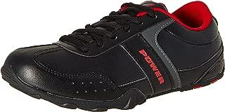 Power Men's Relish Black Running Shoes - 6 UK/India (40 EU) (8086536)