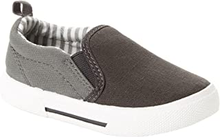 Simple Joys Carter's Toddler and Little Boys' (1-8 yrs) Casual Slip-On Canvas Shoe