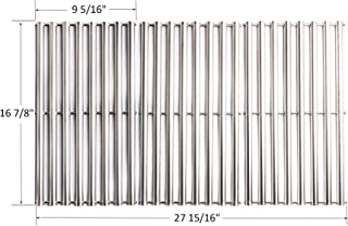 GS8763 Stainless Steel Cooking Grid Replacement for Charbroil 463433016, 463461615, 463420507, 463420508, Kenmore 463420507, Master Chef 85-3100-2, 85-3101-0, G43205, T480, Set of 3