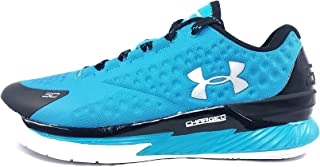 Under Armour Curry 1 Low Panthers Teal Black Silver Sz 8 1269048-480