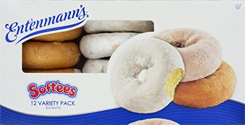 Entenmann's, Softee Variety  Donuts, 12 ct, 19 oz