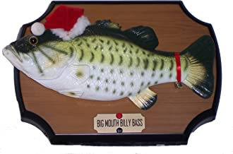 Big Mouth Billy Bass Sings for the Holidays! Motion Sensor Animated Christmas 2000